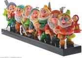 Disney Britto Beeld Seven Dwarfs / Zeven Dwergen 45 cm lang