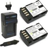 Wasabi Panasonic DMW-BLF19  Power Accu en Lader Kit