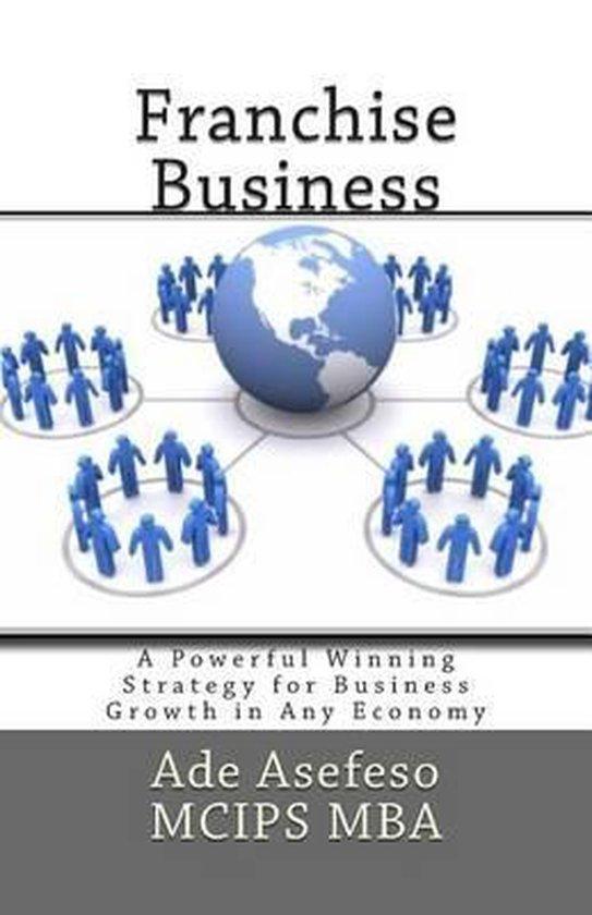 Boek cover Franchise Business van Ade Asefeso Mcips Mba (Paperback)