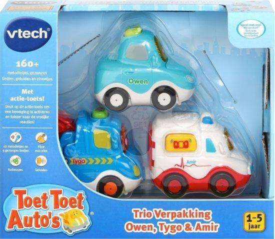 VTech Toet Toet Auto's Trio Pack Stadsleven - Speelfiguren