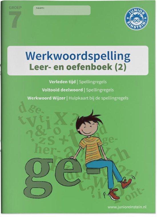 Werkwoordspelling 2 spellingsoefeningen verleden tijd en voltooid deelwoord groep 7 leer- en oefenboek - none | Readingchampions.org.uk