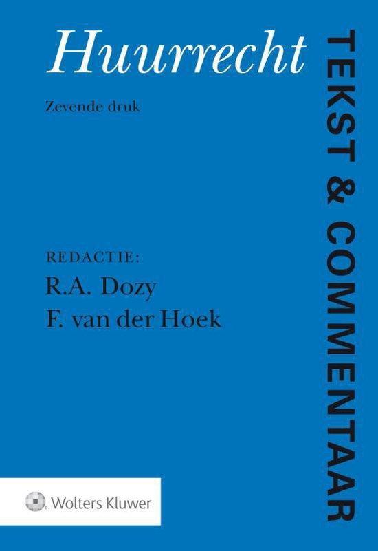 Tekst & Commentaar - Huurrecht - none  