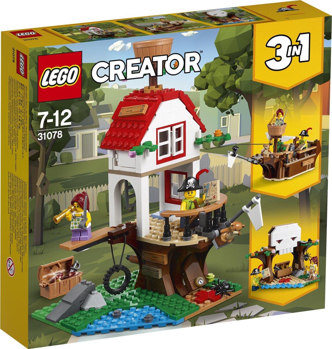 LEGO Creator 31078 Boomhuis Schatten
