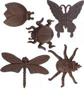 Wanddecoratie insecten
