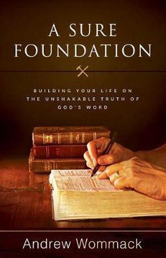 Boek cover Sure Foundation, A van Andrew Wommack (Paperback)