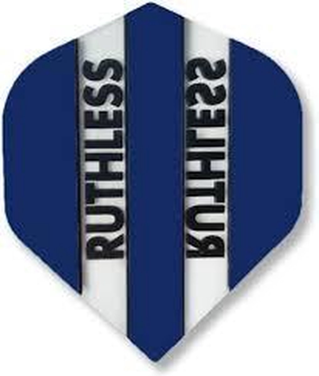 ruthless flights 5 sets donkerblauw/doorzichtig