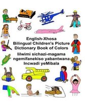 English-Xhosa Bilingual Children's Picture Dictionary Book of Colors