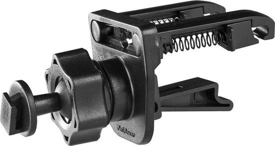 Azuri telefoonhouder voor in de auto (zuignap of ventilatierooster) - Universeel - Zwart