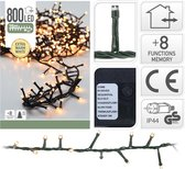 DecorativeLighting Micro Cluster Kerstverlichting - 16 meter - 800 LED's - Extra warm wit