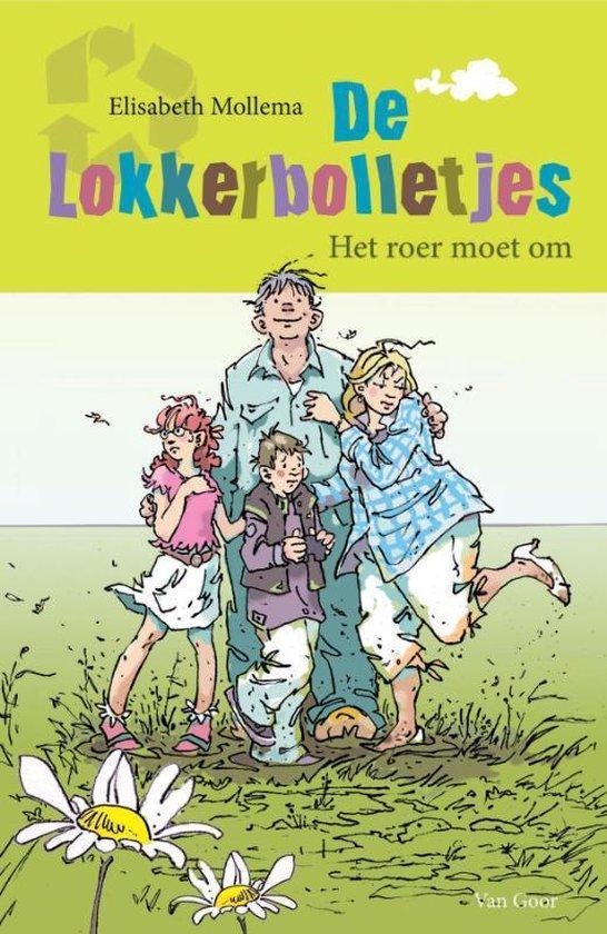 Cover van het boek 'De lokkerbolletjes' van E.T. Mollema