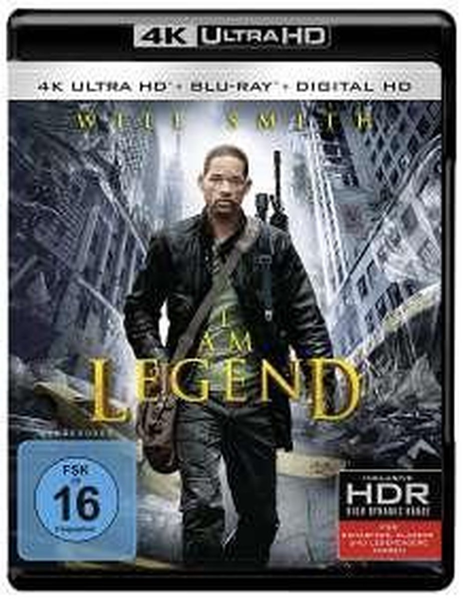 I Am Legend (Ultra HD Blu-ray)-