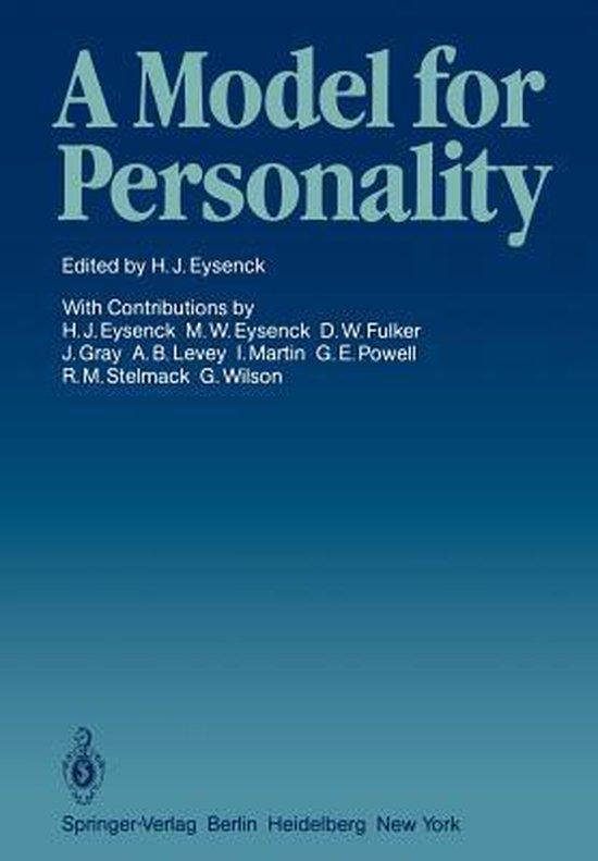 Boek cover A Model for Personality van  (Paperback)
