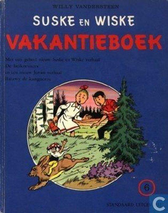 Suske en Wiske Vakantieboek - 6 - 1978 - Willy Vandersteen |
