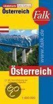Falkplan Österreich 1 : 600 000. Länderkarte