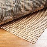 Lumaland - Anti-slip ondertapijt - anti-slip mat voor onder tapijt / kleed voorkomt uitglijden - verkrijgbaar in verschillende maten - 160 x 225 cm