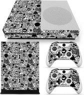 Xbox One Slim Sticker | Xbox One Slim Console Skin | Cartoon | Xbox One Slim Cartoon Skin Sticker | Console Skin + 2 Controller Skins