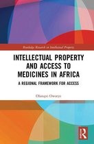 Omslag Intellectual Property and Access to Medicines in Africa