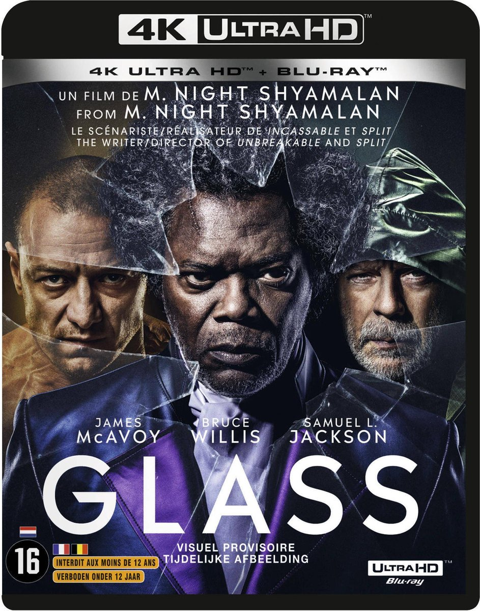Glass (4K Ultra HD Blu-ray) (Import zonder NL)-