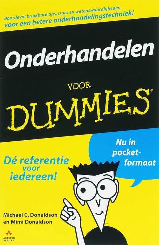 Voor Dummies - Onderhandelen voor Dummies - M.C. Donaldson |