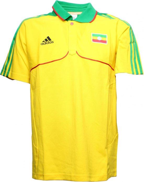 Adidas Polo Ethiopië Geel Heren Maat S/m