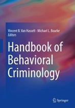 Omslag Handbook of Behavioral Criminology