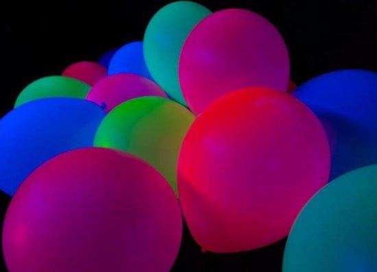 Ballonnen Neon 12 stuks 27 cm