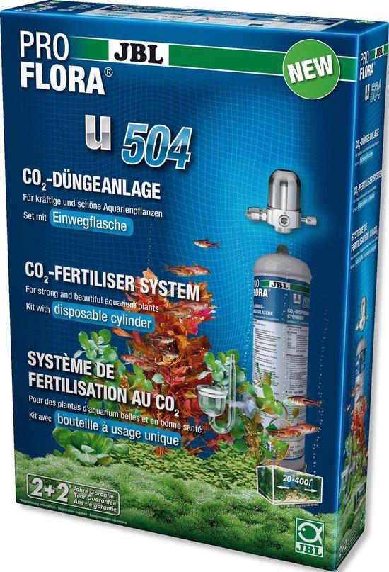 JBL ProFlora u504 CO2 bemestingsysteem - JBL Dier