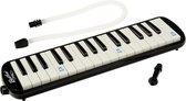 Melodica met tas – Blaas piano / keyboard 32 toetsen - zwart