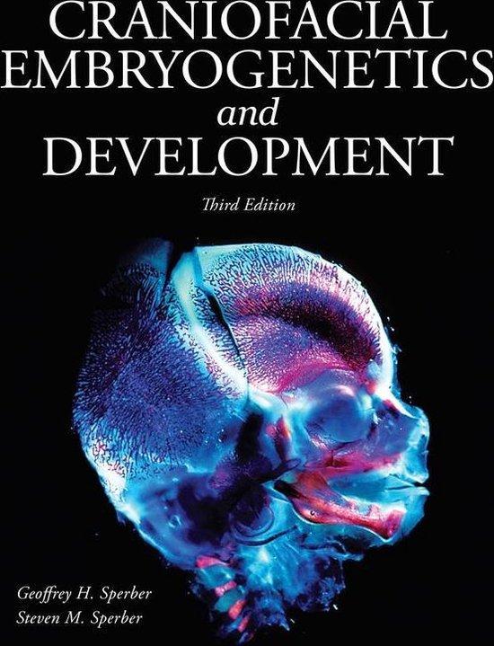 Boek cover Craniofacial Embryogenetics and Development van Onbekend (Onbekend)
