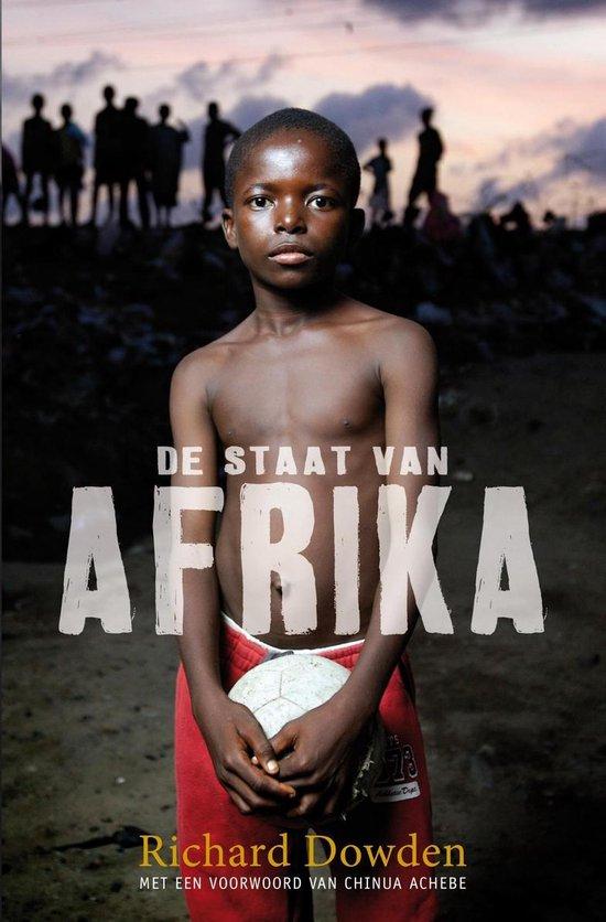 Boek cover De staat van Afrika van Richard Dowden (Onbekend)