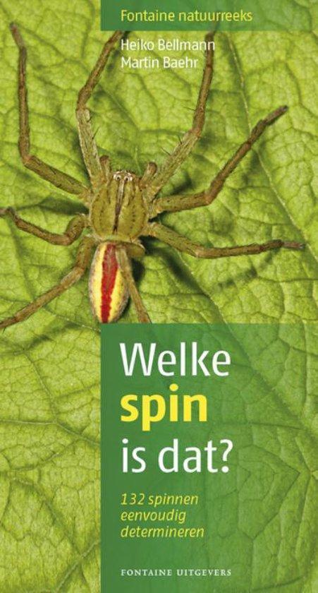 Boek cover Welke spin is dat? van Heiko Bellmann (Paperback)
