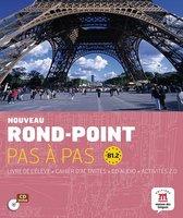 Nouveau Rond-Point pas à pas B1.2 livre de l'élève + cahier exercices + cd