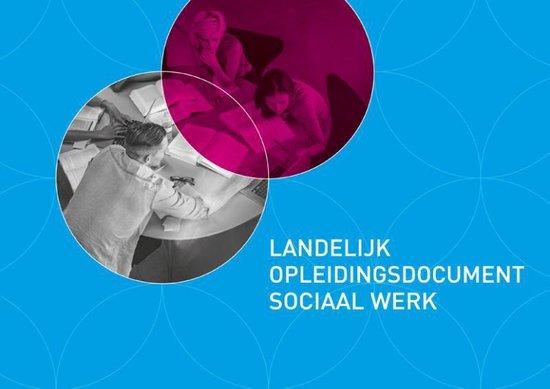 Landelijk opleidingsdocument sociaal werk - none |