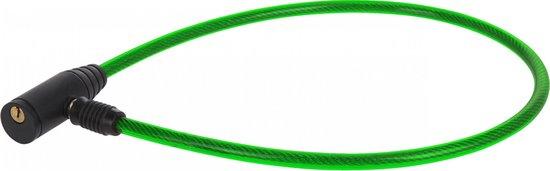 Kabelslot Met Sleutels 65 Cm groen