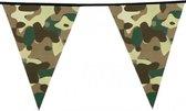 Camouflage vlaggenlijn 6 meter army thema - feestartikelen en versiering