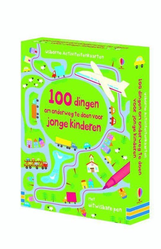 Cover van het boek '100 DINGEN OM ONDERWEG TE DOEN VOOR JONGE KINDEREN' van  n.v.t.
