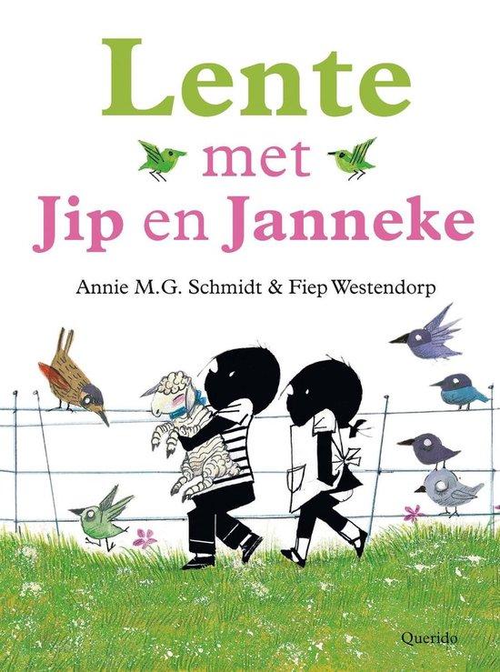 Boek cover Lente met Jip en Janneke van Annie M.G. Schmidt (Onbekend)