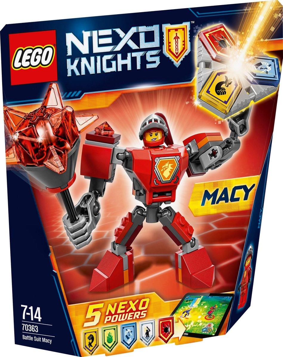 LEGO Nexo Knights Strijdharnas Macy - 70363