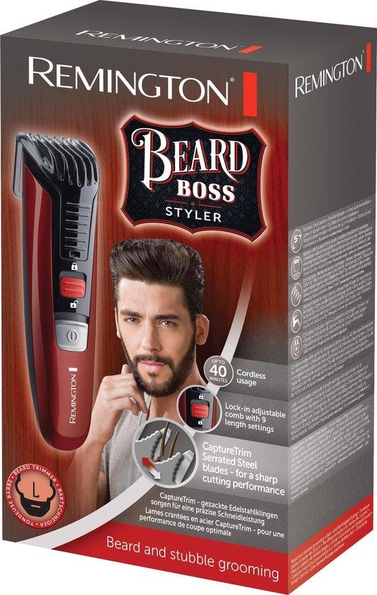 Remington MB4125 Beard Boss Styler - Baardtrimmer