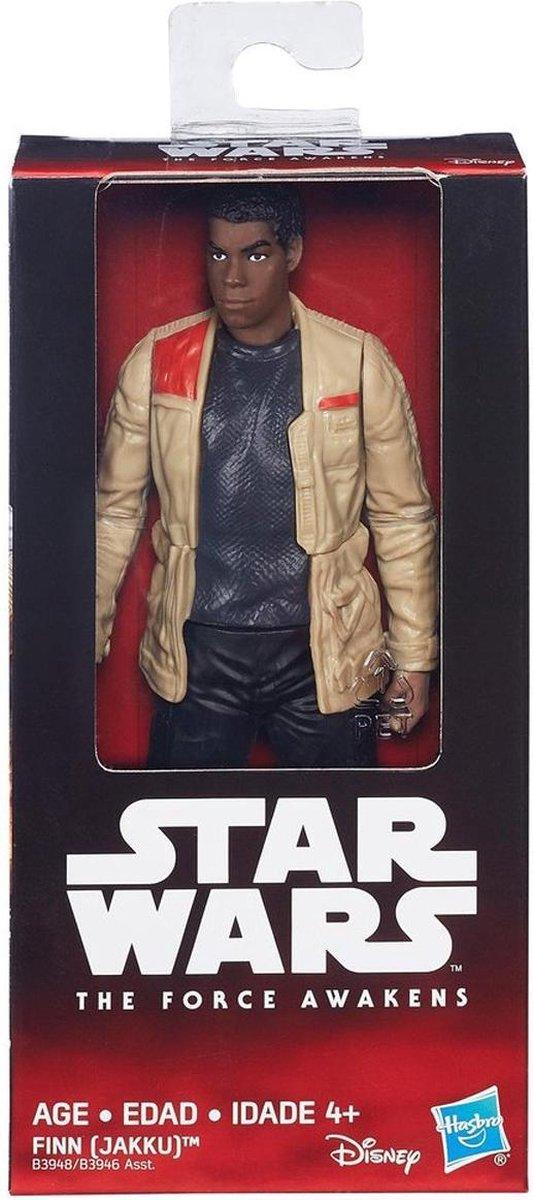 Star Wars Finn Jakku Collectibles Figuur ? 14x7x3cm | Star Wars Verzamelfiguur