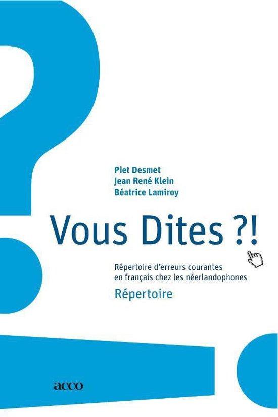Vous dites?! - Piet Desmet   Fthsonline.com