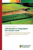 Letramento e linguagem em escola rural