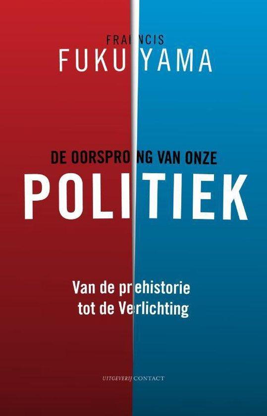 Cover van het boek 'De oorsprong van onze politiek'