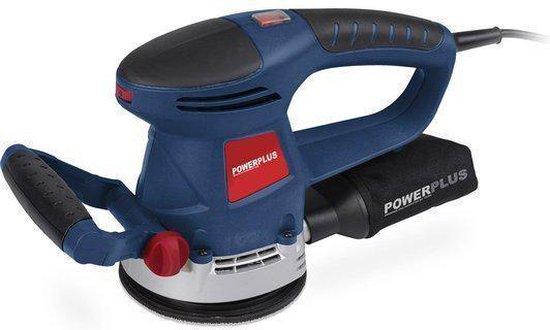 Powerplus POW4060 Roterende Schuurmachine - 480 Watt - 125 mm schuuropppervlak