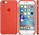 Apple Siliconen Back Cover voor iPhone 6/6s - Oranje