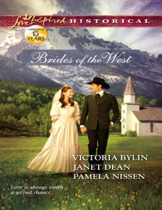Boek cover Brides of the West: Josies Wedding Dress / Last Minute Bride / Her Ideal Husband (Mills & Boon Love Inspired Historical) van Janet Dean (Onbekend)