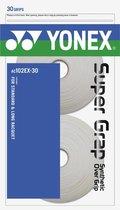 YONEX AC102EX ROL 30 SUPER GRAP - Wit