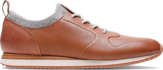 Clarks - Herenschoenen - Hero Fuse - G - dak tan leather - maat 9,5