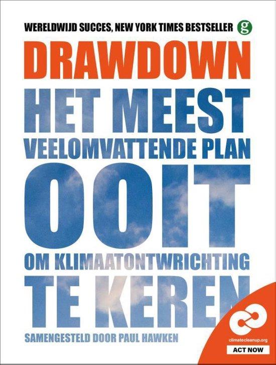 Boek cover Drawdown van Paul Hawken (Paperback)