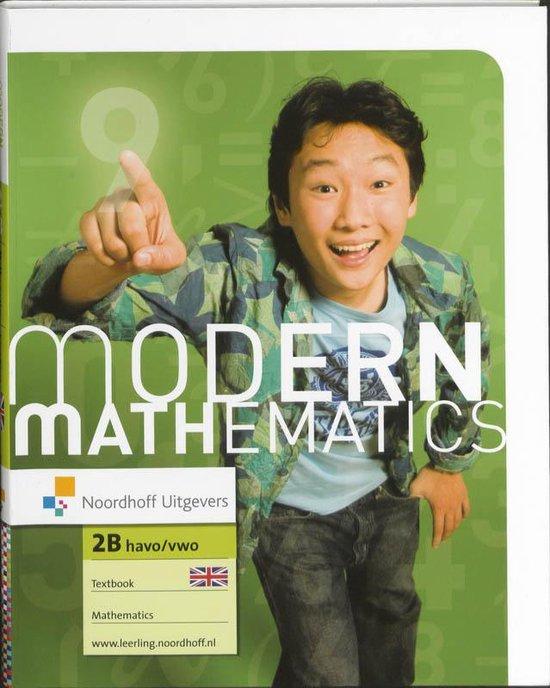 Textbook havo/vwo 2B Modern Mathematics - Ingrid de Bruijn | Fthsonline.com